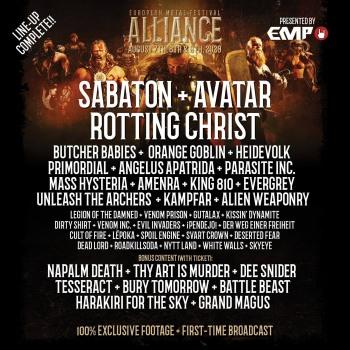 Rotting Christ to live stream concert via EMFA
