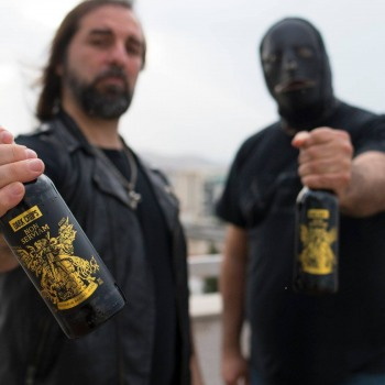The first official Rotting Christ Craft Beer