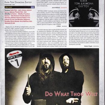 Kata ton demona eaftou album of the month in checian spark magazine