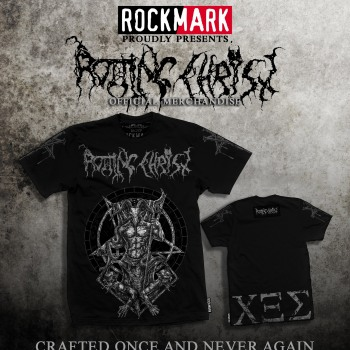 Rotting Christ official merch from Rock Mark luxury metal merchandise