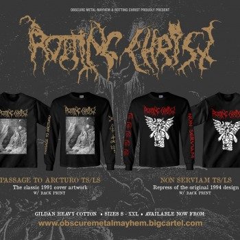 Special old school designs proudly presented from Obscure Metal Mayhem
