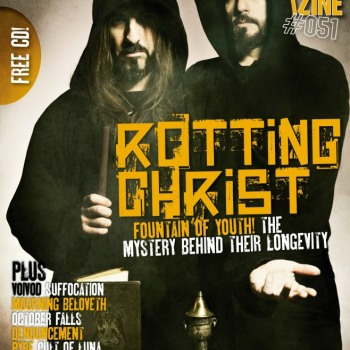 Rotting Christ dresses February's Zero Tolerance cover