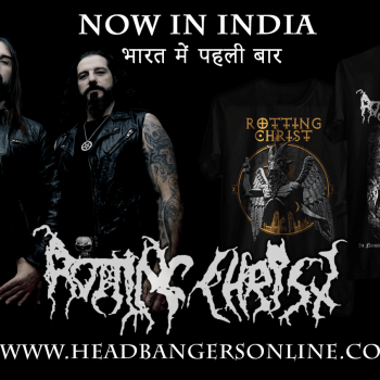 Rotting Christ now in India!