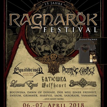 Rotting Christ to headline Ragnarock Festival 2018