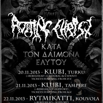Rotting Christ in Finland