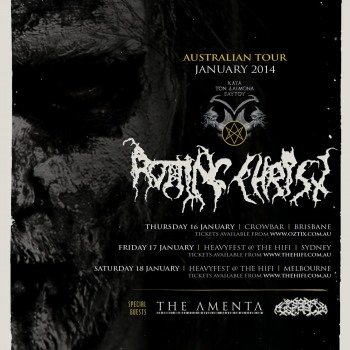 Rotting Christ in Australia