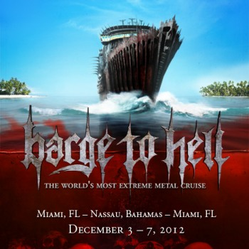 Rotting Christ on board Barge to Hell!