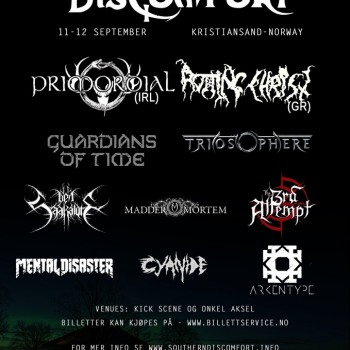 Rotting Christ to headline first day of southern discomfort festival Norway