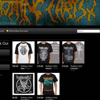 Rotting Christ official Americal online store