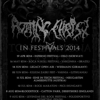 Rotting Christ in Festivals 2014, See you there!