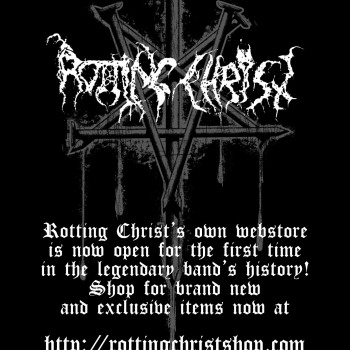 The first ROTTING CHRIST online store ever is a reality!