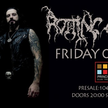 Rotting Christ for only one show in Northern Greece into 2017