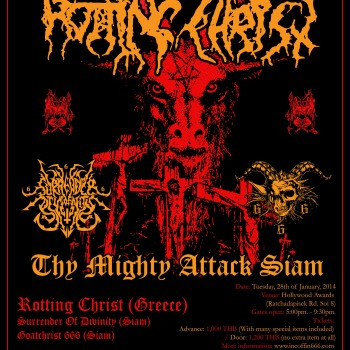 Rotting Christ in Thailand