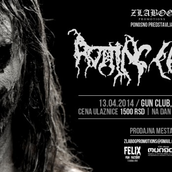 Rotting Christ in Serbja