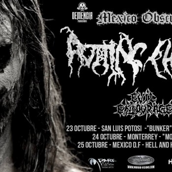 Rotting Christ in Mexico