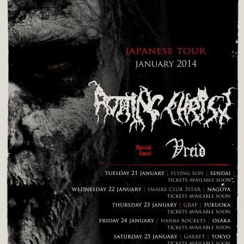 Rotting Christ in Japan