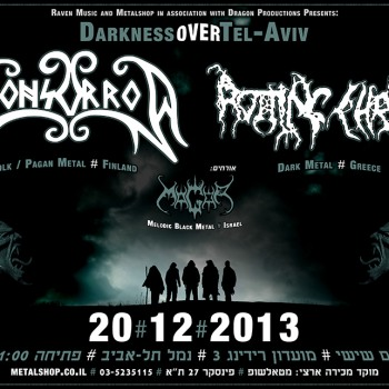 Rotting Christ in Israel