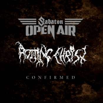 Rotting Christ confirmed for the Swedish Sabaton Open Air 2017!