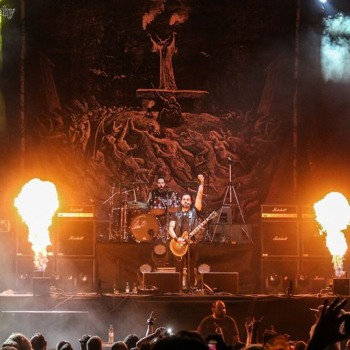 Rotting Christ in Athens Rockwave Festival