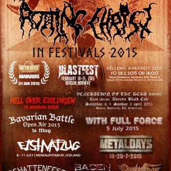 Rotting Christ in festivals 2015
